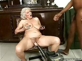 6:59 - Interracial granny fuck -