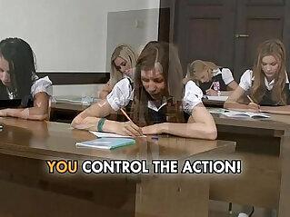 13:29 - Petite college girls are so slutty and wild for the professor -