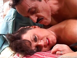 21:12 - Debella is a saucy old spunker in stockings loves to fuck -