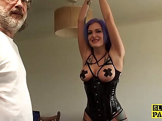 9:03 - Euro BDSM sub analfucked as punishment -