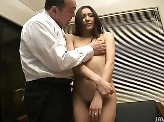 6:31 - Nozomi Mashiros job interview includes tit and pussy sucking -
