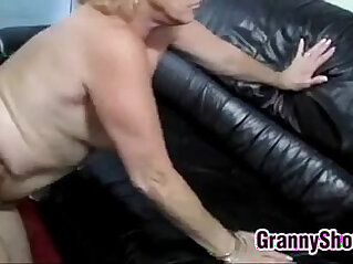 15:26 - Blonde Grandma Being Licked And Fucked -