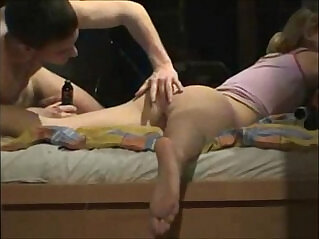 17:30 - beautiful asian girl first ever anal -