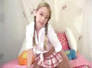 15:23 - Sassy full schoolgirl scene -