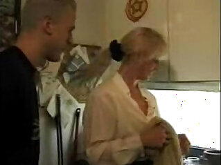 21:06 - XXX Homemade German video Hot mom takes son and his friendXXX -