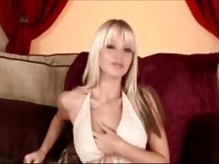 9:45 - Jana Cova Masturbation tape with Vibrator -