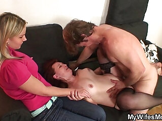 6:06 - She watches her mom and husband fucking -