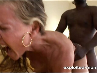 5:43 - Blonde amateur Milf gets her Back Blown Out by a Big Black Cock porn Video -