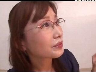 7:36 - Office Lady Glasses Cumshots Japanese -
