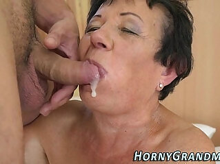 6:59 - Smaltits granny cum mouth -