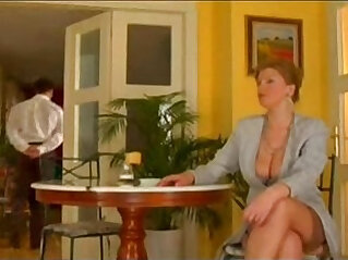 22:50 - First class mature lady fucked by lucky waiter -