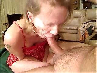 7:06 - Grandma from gives blowjob -