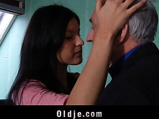 5:44 - Old teacher sex classes with student -