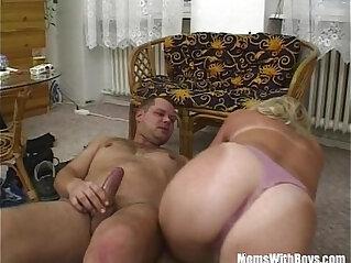 21:40 - Blonde Bombshell Suck And Fucks Cock -