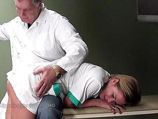 3:36 - Coras spanking -