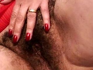7:10 - Hairy granny takes a pounding -