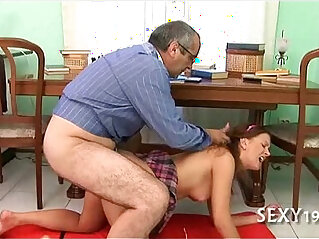 5:44 - Hot couch fucking lesson -