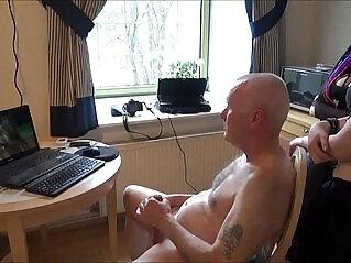 38:14 - Ulf larsen pee flash wank and orgasm for two girls... -