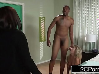 9:05 - Horny Teen w Jungle Fever Madelyn Monroe Seducing Her Moms Black BF -