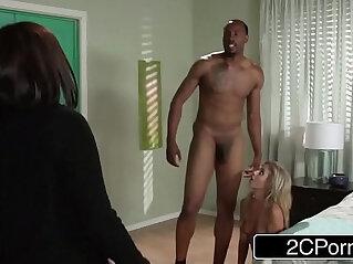 9:05 - Horny Teen w Jungle Fever Madelyn Monroe Seducing Her Moms Black BF -