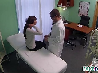 9:08 - Fake doctor cures headache with cock -