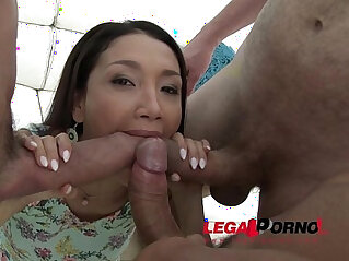 1:43 - Vicki Chase brutal welcome to Legal Porno Airtight DP -