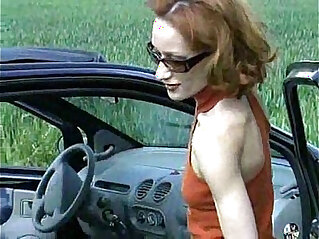 29:17 - Outdoor redhead anal -