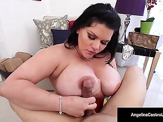 11:38 - Cuban bbw angelina castro gives her trainer a hot blow job -