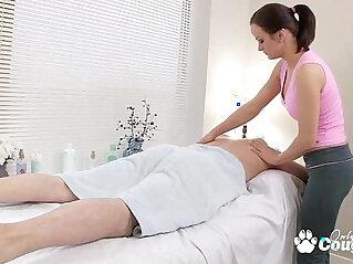 29:35 - Horny little trollop fucks and sucks her massage client -