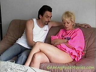 1:42 - Hard deep anal pounding granny Mathilde -