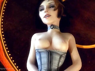 30:33 - Elizabeth Comstock Bioshock gets pussy drilled in Columbia -