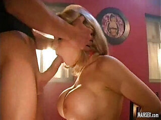5:16 - Blonde euro babe toying pussy with beautiful and biggest tits gives mouth fucking -