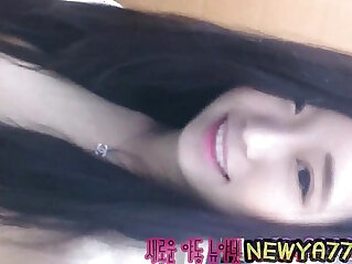 4:53 - korean teen fingering her tiny pussy -