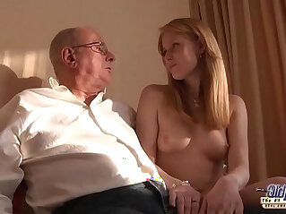 8:07 - Old Young Porn Grandpa likes to fuck young girls lick pussies -