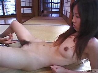 5:51 - Subtitled cfnm Japanese schoolgirl twenty marbles insertion -