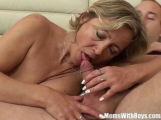 12:03 - A Mature Napping Beauty In Stockings Fucked By Stepson -