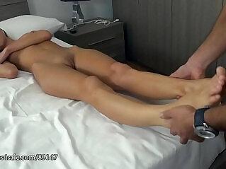 1:02 - Gina gerson sleeping feet abuse -
