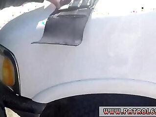 8:06 - Sexy blonde cop and big ass ebony Horny border patrol tears up -