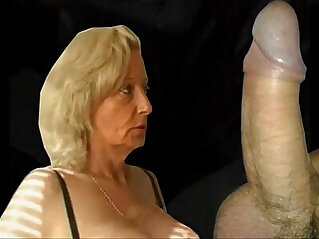 3:52 - Granny gives blowjob and gets fucked -