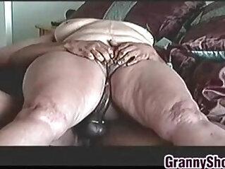 4:30 - Big Granny On Riding Some black Cock -