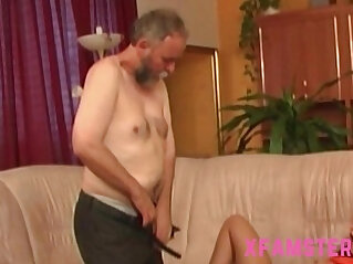 22:14 - Petite stepdaughter pigtails get fucked hard by stepdad in wet tiny pussy -