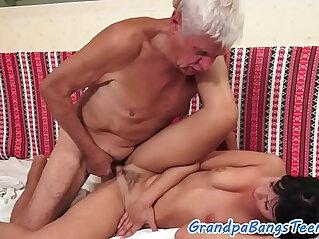 6:36 - Classy eurobabe bangs oldman -