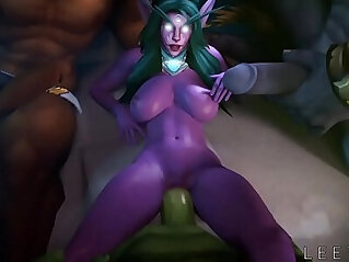 3:16 - FapZone Tyrande World of Warcraft -