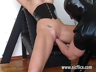 7:11 - Busty slave brutally fisted till she squirts -