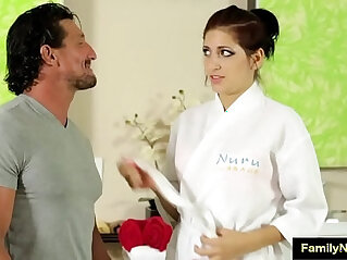 9:55 - Father daughter sex massage porn -