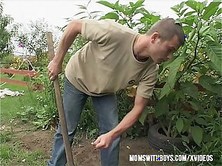 10:56 - Gardener Sexual Interruption Outdoors -