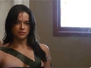 6:46 - Michelle Rodriguez in The Assignment 2016 -