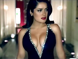 0:55 - Salma Hayek HOT Dance -