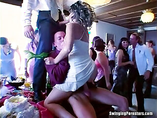 8:11 - Party bitches suck cocks in public -