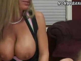 5:17 - Horny mom and daughter tag teamed to suck and fuck a cock -